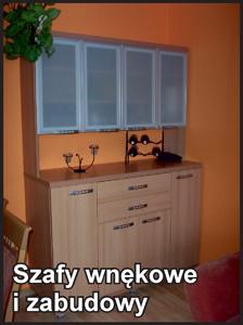 Szafy i zabudowy wnękowe, projekty Łódź.